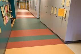 商用PVC塑胶地板的铺设