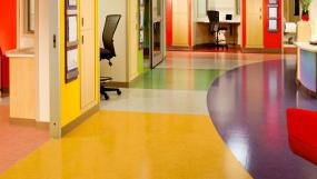 办公室PVC塑胶地板